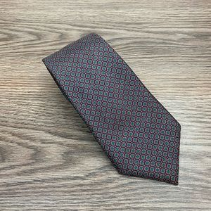 Aquascutum Red, Green & Blue Check Tie